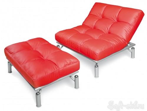 Кресло и пуф «Кио»