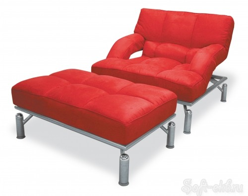 Кресло и пуф «Фентэзи»