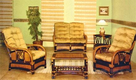 Набор мягкой мебели из роттанга